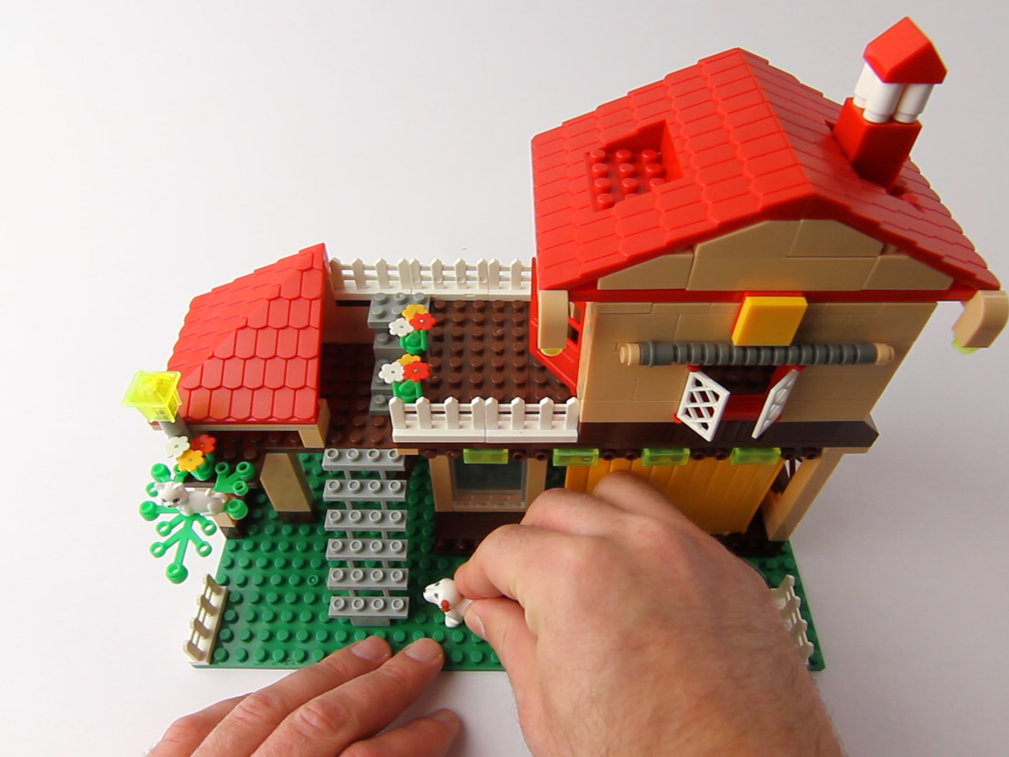 Lego winder for What are the steps in building a house